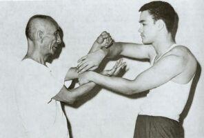 Wing Chun Training door Ip Man en Bruce Lee